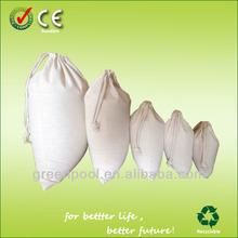 2015Portative wholesale drawstring bag cotton