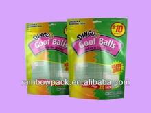 pet/cat food bag & bottom gusset bag