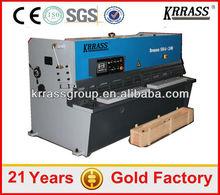 Krrass Brand digital display guillotine shearing machine with 2 years warranty