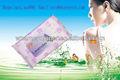 oem saudou descartáveis não tecidos protetor solar toalhetes húmidos feminino toalhetes húmidos de clareamento da pele