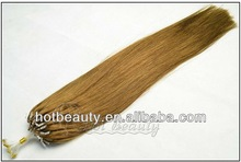 Factory Professional Virgin Brazilian micro ring loop hair extensions
