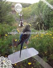 Acrylic Lucite Small Window Birds Stand