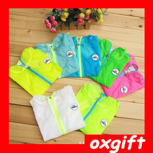 OXGIFT 2014 boys and girls is prevented bask in clothes Han edition children sun-protective baby clothing coat