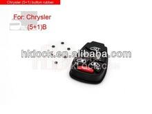 For Chrysler 5+1 button rubber (small button)