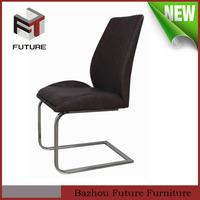 europe design modern wooden seat metal legs dining chair