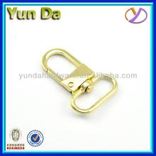 Manufacture small decorative metal hooks, snap hook, bag swivel hook H0003