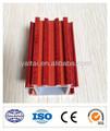 Perfil de aluminio de gran calidad imitación de madera, materiales por extrusión para la fabricación de ventanas