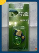 2014 Hot Sale Fashion 10ml Hanging Car Air Freshener Perfume Car Vent Air Freshener Liquid Air Freshener