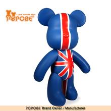 Home Decoration POPOBE Brand PVC Bear Gift For Elderly People