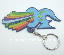 Custom design boy and girl key chain short lanyard key chain