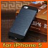 for iPhone 5 5S Motomo Brushed Aluminium Metal Hard Case NEW HOT