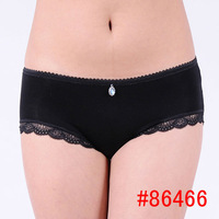 Wholesale mixed colors sexy bamboo lace underwear for lady
