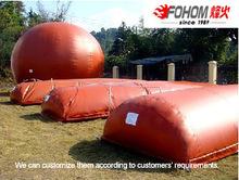 Fenghuo Hot Sales Portable Biogas Plant/Double membrane biogas storage bag