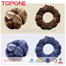 Flower Design Twist Total Body Pillow