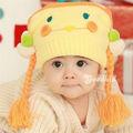 двойным подшипником мультфильм для ребенка шерсти крышка акриловые связанные шлемы