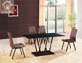Hot dt-1409 rústica mesa de jantar