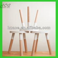 custom wooden stool/solid wood stool/custom color stool