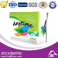Hot Sale High Quality Competitive Price Anion Sanitary Towel Manufacturer from China