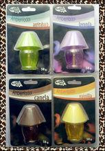 2014Atuo Fashion Wholesale Cheap Fragrance Desk Lamp Shape Ca Vent Air Freshener Perfume Liquid Air Freshener Car Deodorizer