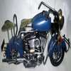 Handmade Metal Craft decorative Motorcycle Model