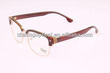 Half new model eyewear frame glasses style science glasses