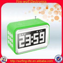 FM Mini Digital Clock For Car Wholesaler