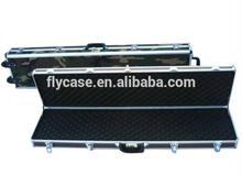 camouflage color aluminum gun case with bullet box aluminum rifle gun case