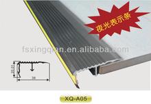 Step-nosing profiles for Anti-Slip, Tile protection profile, ALUMINUM TILE TRIM