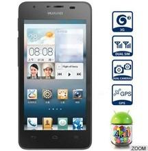 5 inch IPS capacitive screen dual camera 13MP 2GB RAM 8GB ROM phone MTK 6589 quad core dual sim original Huawei G700