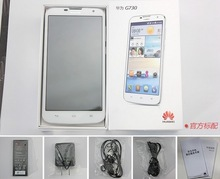 5.5 inch Original HUAWEI G730 dual sim quad core RAM1GB ROM4GB Android4.22 3G android city call mobile phone