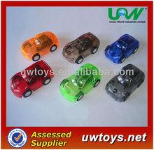 5CM Plastic Mini Pull Back Car