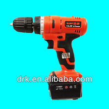 14.4V rechargeable li-ion battery drill cordless
