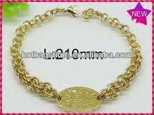 Lovely beauty chinese tradition jade bracelet stainless steel bracelet