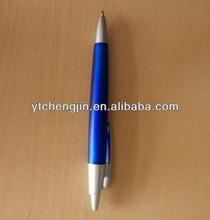 blue pen/blue color black ink ball pen
