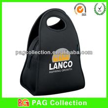 Cosmetic Case Bind Neoprene Croc Embossed Mini Bag Black