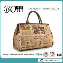 new design fancy folding travel bag
