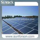 2014 new power 1MW solar power plant for commercial installation