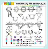 nipple stretching jewelry piercing