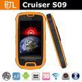 crucero s09 mt6573 procesador dual teléfono resistente pc