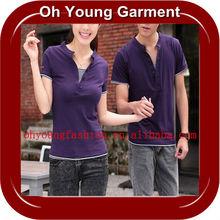 Fashion Love Couple T Shirt Design OEM Clothing Manufacturing