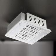 120w LED canopy light gas station light