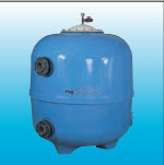 PINA Mitra serie Polyester sand filter sketching with style well