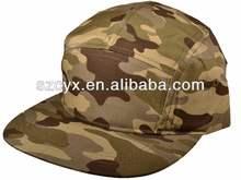 5 Panel COOL Designer Blank Camouflage Men Women Snapback Hats Camo Men Camper Flat Bill Hat