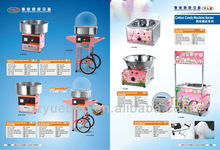 electric & gas commercial fairy floss machine