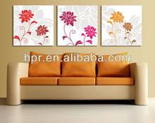 wholesale decorative flower canvas painting