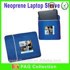 Printed waterproof neoprene laptop protective sleeves