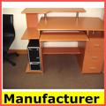 حار بيع صور خشبية الكمبيوتر المكتبية، طاولة الكمبيوتر