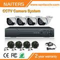 Sony700tvl, p2p, con 4 piezas de la cámara, vista de apoyo del teléfono móvil, para el hogar sistema de seguridad cctv
