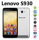 Original Lenovo S930 Quad Core Supports multi language 6.0 inch 3G android mobile phone lenovo mobile phone