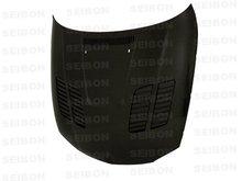 SEIBON 08-09 BMW 1/128/135 2D Carbon Fiber Hood GTR E82